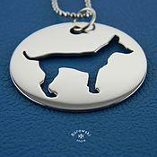 Для домашних животных, handmade. Livemaster - original item Adresnik under engraving.. Handmade.