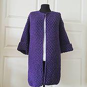 Одежда handmade. Livemaster - original item Blueberry cardigan. Handmade.