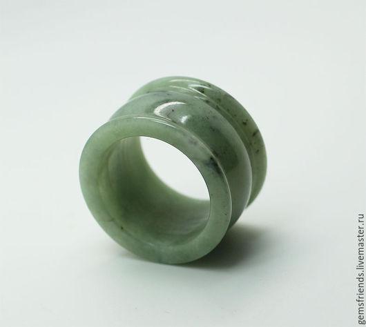 Кольца ручной работы. Ярмарка Мастеров - ручная работа. Купить Кольцо натуральный Жадеит ( Жад ), размер 19,75. Handmade.