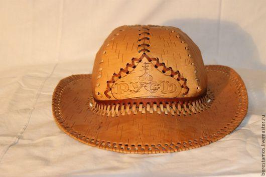 Шляпа из бересты `Русь`