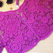 Одежда ручной работы. Ярмарка Мастеров - ручная работа болеро Смородинка в технике Ирландского кружева. Handmade.