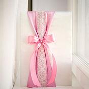 """Свадебный салон ручной работы. Ярмарка Мастеров - ручная работа Папка для свидетельства о браке """"Пепельно-розовый"""". Handmade."""