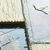 Для дома и интерьера ручной работы. Ярмарка Мастеров - ручная работа Комплект интерьерный , часы настенные и ваза Восток. Handmade.