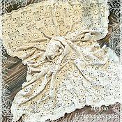 Для дома и интерьера ручной работы. Ярмарка Мастеров - ручная работа Плед Цветочные мотивы. Handmade.
