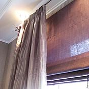 Для дома и интерьера handmade. Livemaster - original item Lilac curtains. Handmade.