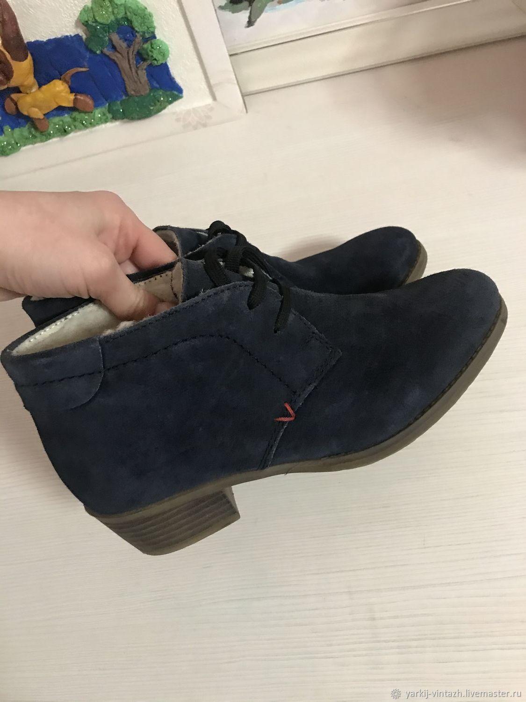 Винтаж: Ботинки зимние Rieker 36,5-37, Винтажная обувь, Ефремов,  Фото №1