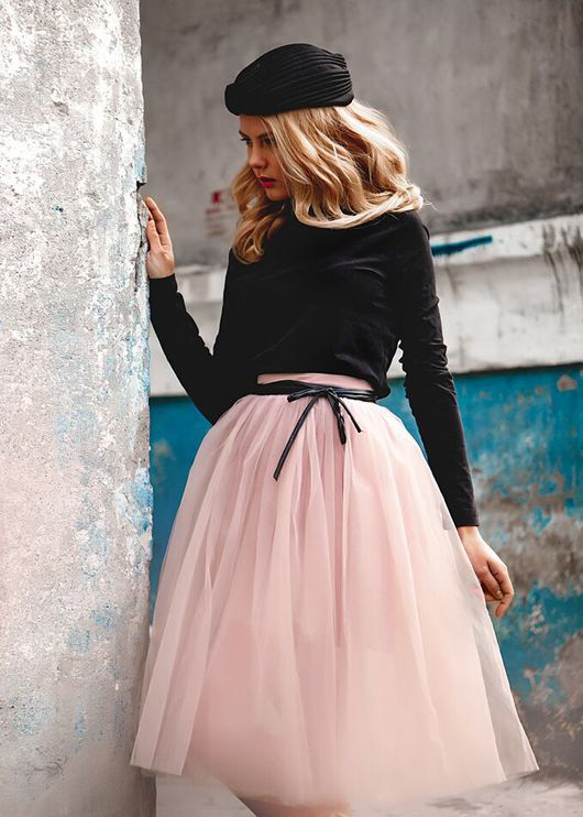 Юбки ручной работы. Ярмарка Мастеров - ручная работа. Купить Фатиновая юбка. Handmade. Фатиновая юбка, повседневная одежда