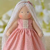 Куклы и игрушки ручной работы. Ярмарка Мастеров - ручная работа Вальдорфская кукла Вероника, 30 см. Handmade.