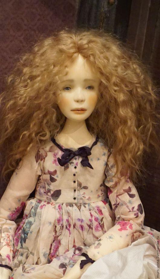 Коллекционные куклы ручной работы. Ярмарка Мастеров - ручная работа. Купить Коллекционная кукла Есения.. Handmade. Тёмно-фиолетовый