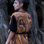 Одежда handmade. Livemaster - original item Knitted long vest