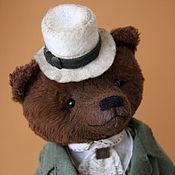 Куклы и игрушки ручной работы. Ярмарка Мастеров - ручная работа Hugo  - коллекционный медведь тедди. Handmade.