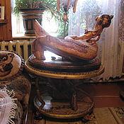 Для дома и интерьера handmade. Livemaster - original item Floor Lamp Dragon. Handmade.