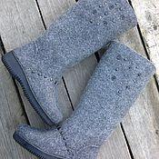 """Обувь ручной работы. Ярмарка Мастеров - ручная работа Валенки """"ilta"""". Handmade."""