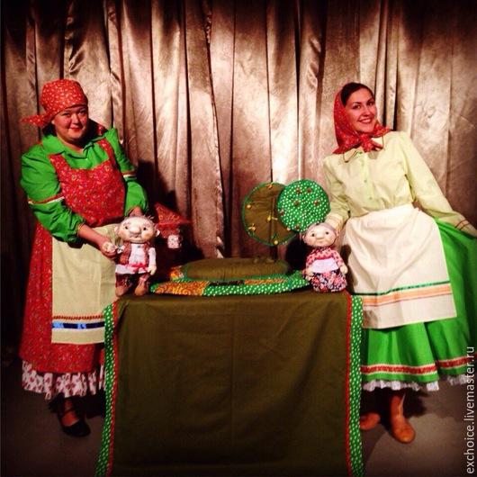Карнавальные костюмы ручной работы. Ярмарка Мастеров - ручная работа. Купить Костюмы в народном стиле. Handmade. Разноцветный, народный костюм