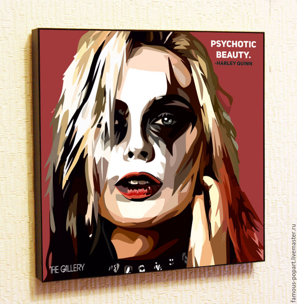 Picture Poster Pop Art by Harley Quinn, Fine art photographs, Moscow,  Фото №1