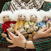 Куклы и игрушки ручной работы. Ярмарка Мастеров - ручная работа Куземочка-Домовеночек. Handmade.