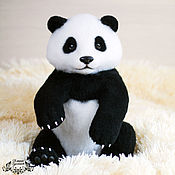 Куклы и игрушки handmade. Livemaster - original item Baby Panda (toy from felt). Handmade.