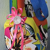 """Сумки и аксессуары ручной работы. Ярмарка Мастеров - ручная работа Сумка """"Ярче радуги"""". Handmade."""