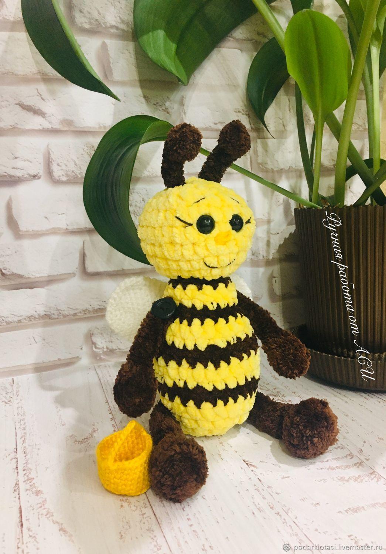 пчелка Жу-Жу, Мягкие игрушки, Иркутск,  Фото №1