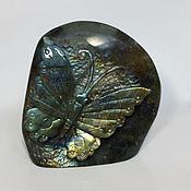 Для дома и интерьера ручной работы. Ярмарка Мастеров - ручная работа Бабочка из лабрадорита. Handmade.