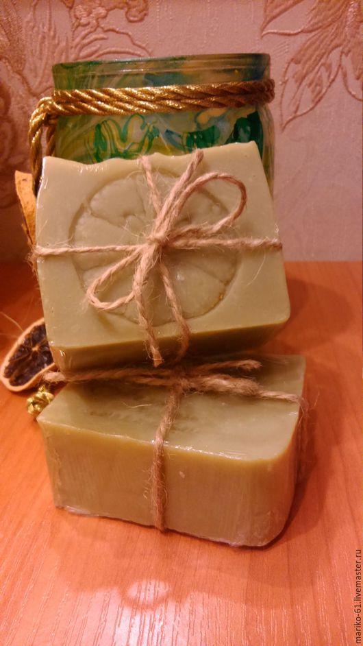 """Мыло ручной работы. Ярмарка Мастеров - ручная работа. Купить мыло с нуля """"Алеппское"""". Handmade. Мыло класическое, мыло с нуля"""