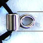 Фурнитура для шитья ручной работы. Ярмарка Мастеров - ручная работа Петля для шнуровки. Винтаж. Никель. Handmade.