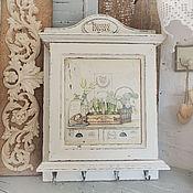 Для дома и интерьера ручной работы. Ярмарка Мастеров - ручная работа ключница прованс в белом. Handmade.