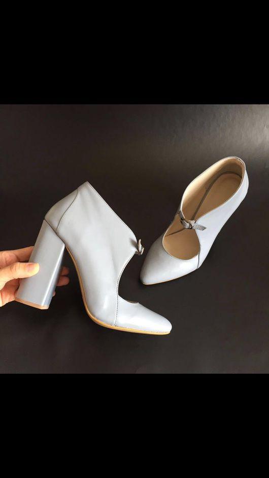 Обувь ручной работы. Ярмарка Мастеров - ручная работа. Купить Туфельки романтик. Handmade. Москва, стильные туфли, красивая обувь