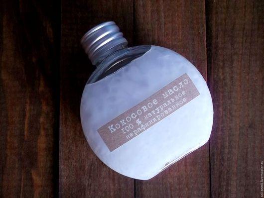 Масла и смеси ручной работы. Ярмарка Мастеров - ручная работа. Купить Кокосовое масло   органик, нерафинированное. Handmade. Эликсир, бальзам