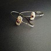 Earrings handmade. Livemaster - original item Copy of Earrings from silver. Handmade.