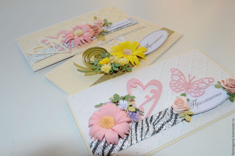 Приглашения на свадьбу ручной работы в Москве и Санкт 38