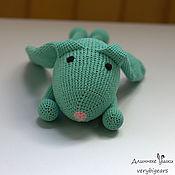 Stuffed Toys handmade. Livemaster - original item Linguaglossa sweetie Masha juniper beads. Handmade.