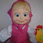 Куклы и игрушки ручной работы. Ярмарка Мастеров - ручная работа Маша - игровая кукла из натуральных материалов. Handmade.