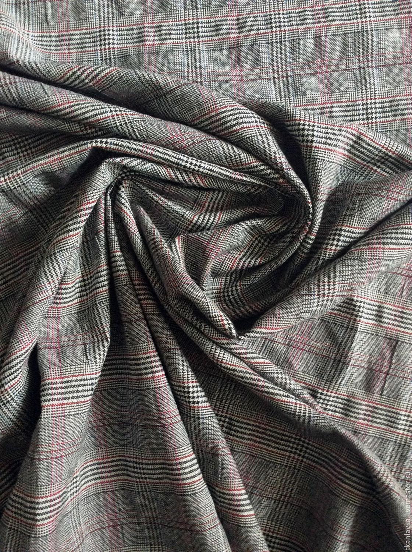 Плательно -костюмная ткань(крэш) отрез 140 см, Ткань, Москва, Фото №1
