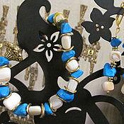 Украшения ручной работы. Ярмарка Мастеров - ручная работа браслет и серьги. Handmade.