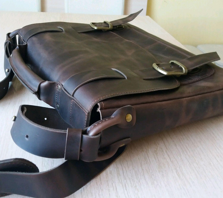 4325fd381e48 Мужские сумки ручной работы. Ярмарка Мастеров - ручная работа. Купить  Кожаная сумка мужская.