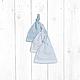 Подарки для новорожденных, ручной работы. Торт из подгузников и одежды 2 яруса (голубой). Мастерская подарков малышам и мамам (mybabygifts). Ярмарка Мастеров.