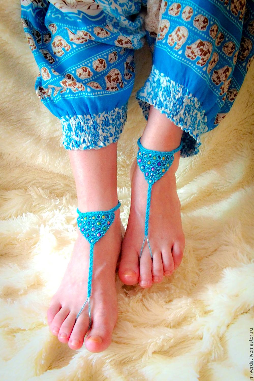 """Слейв браслеты для ног """"Феникс"""", Украшения на ногу, Санкт-Петербург, Фото №1"""