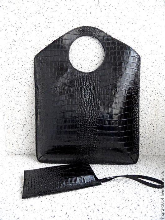 Женские сумки ручной работы. Ярмарка Мастеров - ручная работа. Купить ГЕОМЕТРИЯ I , кожаная сумка-пакет , сумка-клатч. Handmade.