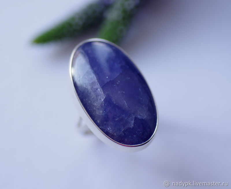 Ring: With tanzanite 'Blue Dali', silver, Rings, Moscow,  Фото №1