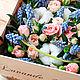 Коробка с цветами Flower box