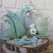 Сувениры и подарки ручной работы. Ярмарка Мастеров - ручная работа Свадебные котики-неразлучники, конверт для денег и бабочки для маленьк. Handmade.