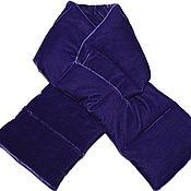 handmade. Livemaster - original item Velvet quilted scarf for women or men. Handmade.