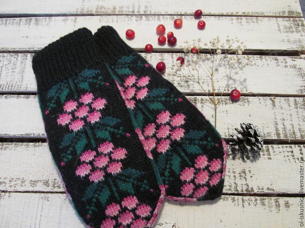 белорусские схемы вязания для варежек