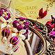 Earrings with flowers. Floral stud earrings. Earrings Flowers. Earrings. LADY-LIZA jewelry shop. My Livemaster. Фото №4