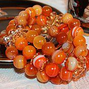 Фен-шуй и эзотерика handmade. Livemaster - original item Natural agate bracelet