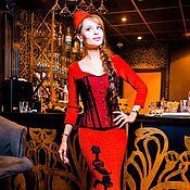"""Одежда ручной работы. Ярмарка Мастеров - ручная работа Корсет """"Королева бала"""". Handmade."""