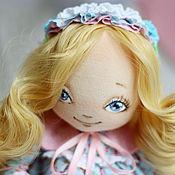 Куклы и игрушки ручной работы. Ярмарка Мастеров - ручная работа Текстильная авторская кукла Бесси. Handmade.