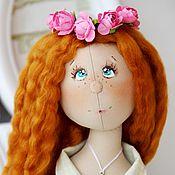 Куклы и игрушки ручной работы. Ярмарка Мастеров - ручная работа Алиса. Коллекционная текстильная кукла.. Handmade.