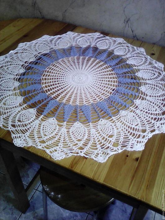 Текстиль, ковры ручной работы. Ярмарка Мастеров - ручная работа. Купить Скатерть ажурная 4. Handmade. Скатерть ажурная